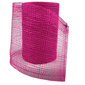 "4"" x 10 YDS Hot Pink Designer Netting"