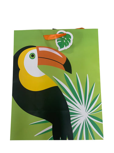 Toucan Leaf Gift Bag