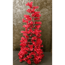 "48"" Cone Work Tree - Metallic Red"