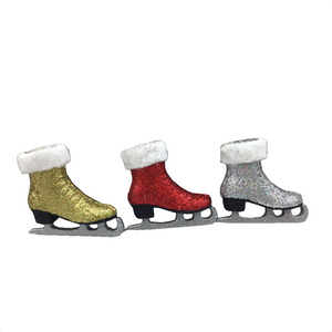 "5"" Skate Shoes Ornaments - Three Different Colors"