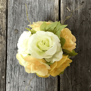 "5"" Yellow Rose Ball"