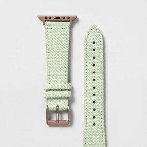Heyday Apple Watch Woven Band- Light Green