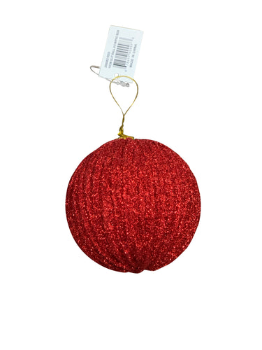 6 Pack Of Christmas Ball Ornaments 4 Inch