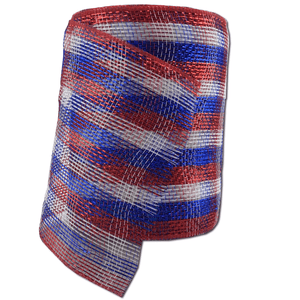 "6"" x 20 Designer Netting - Old Glory Glamour"