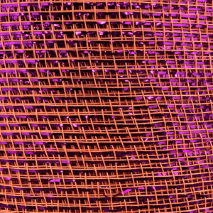 "6"" x 20 Yard Designer Netting - Orange with Purple Glamour"
