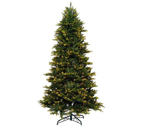 6.5' Bethlehem Lights PreLit Noble Spruce w/ Multi Function & Clear Lights