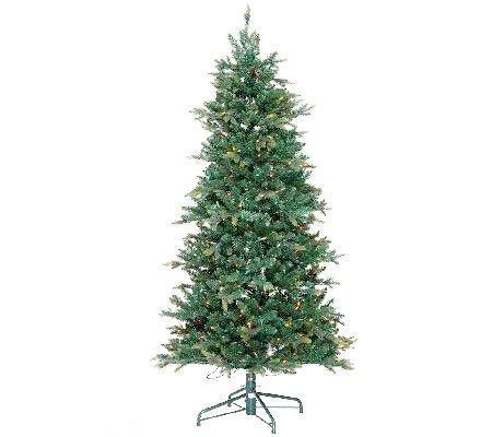 6.5' Manchester Fir w/ Instant Power & Clear Lights
