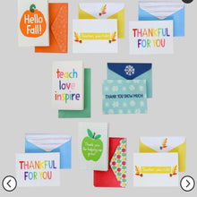 Thank You Snow Much- Note Cards with Envelope
