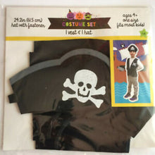 Pirate Vest And Hat Costume Set