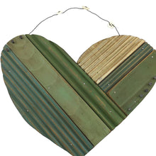 "8"" Wooden Heart Wall Hanger"