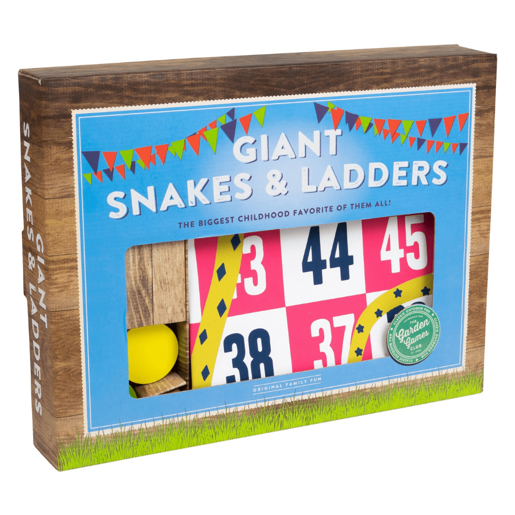 Giant Snakes & Ladders Board Game