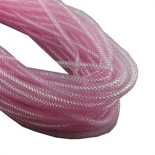 8mm x 30 YDS Designer Flex Tubing - Light Pink