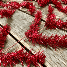 Metallic Red Work Garland Alt Image