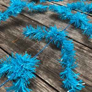 Turquoise Work Garland Alt Image
