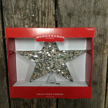 "9"" Wondershop Unlit Christmas Tree Topper Star"