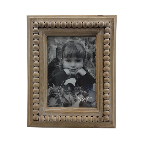 Wood Photo Frame 7 Inches Wide 10 Inches Tall