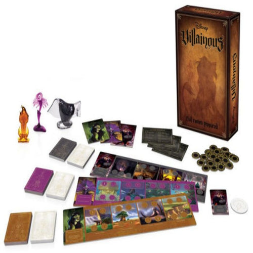 Disney Villainous-Evil Comes Prepared Board Game