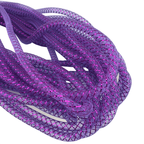 9mm x 20 YDS Designer Flex Tubing - Purple