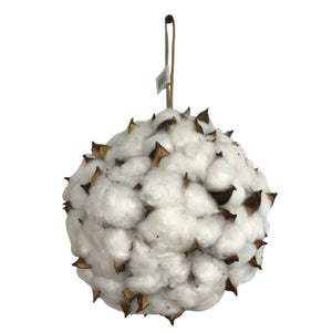 Cotton Ball With Hanger