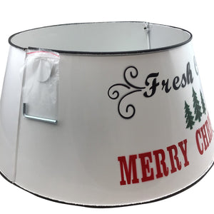 10.5 Inch  Tall Metal Tree Stand Cover