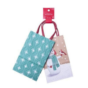 Wondershop 2 Count Small Gift Bag Pack