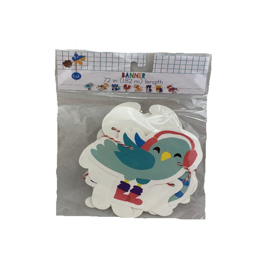 Winter Animals Banner Decor