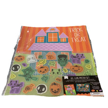 Gel Cling Poster Set- Trick or Treat and Halloween Activities