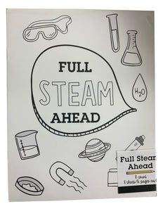 Full Steam Ahead Science Experiment Book
