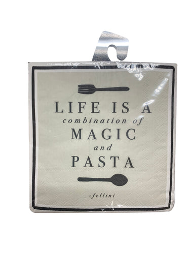 Magic And Pasta Paper Napkins