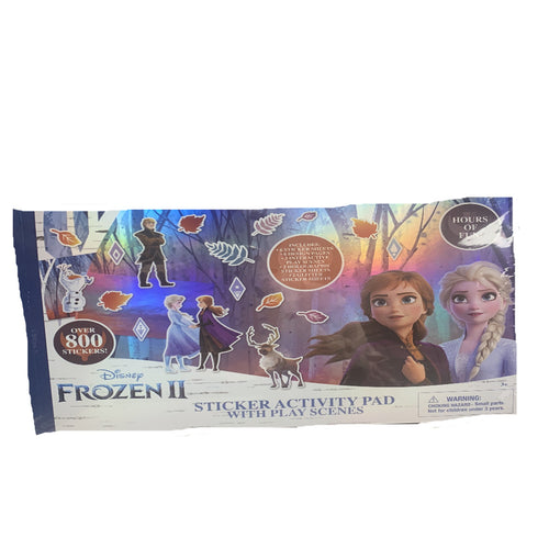 Frozen II Sticker Activity Pad with Play Scenes