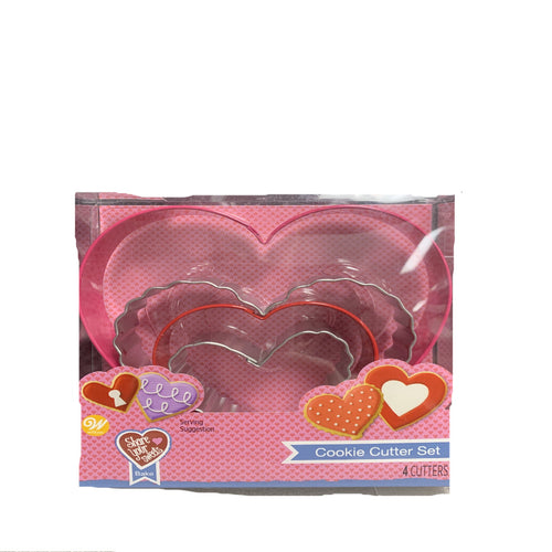 Heart Shape Cookie Cutter Set