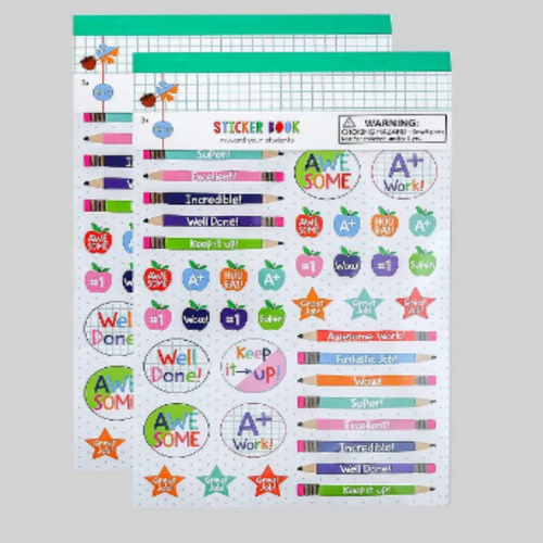 Teacher Sticker Book