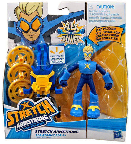 Stretch Armstrong And The Flex Fighters Figures
