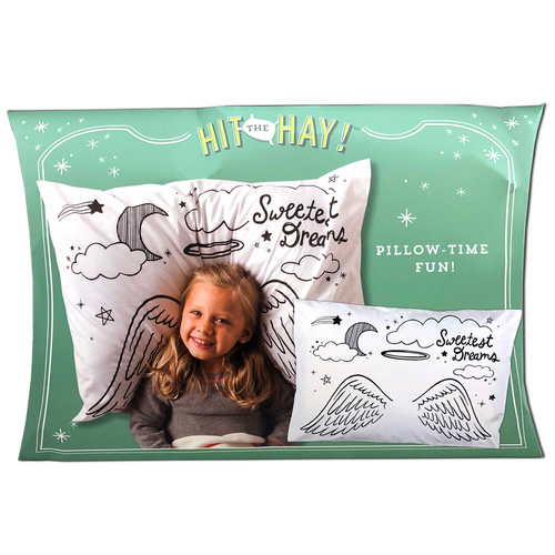 Angel Doodle Pillowcase - 32
