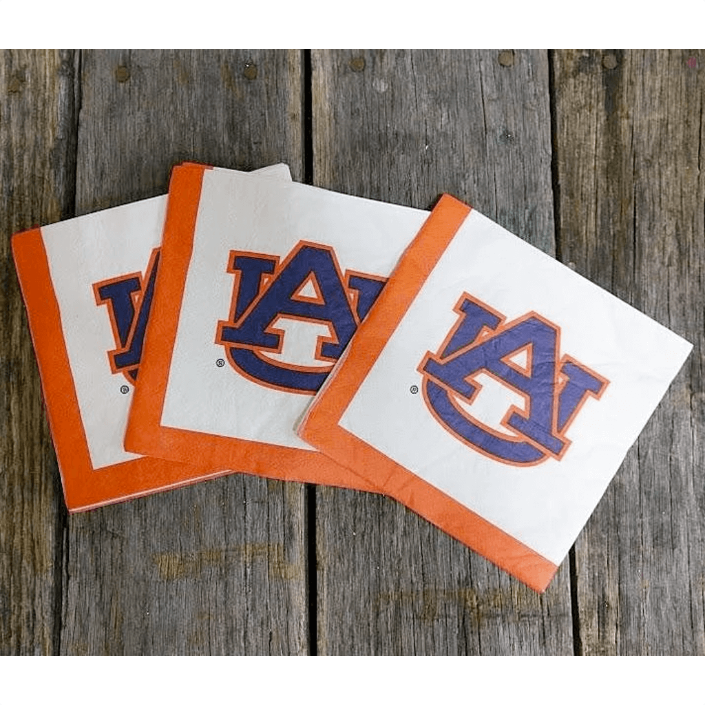 Auburn Symbol Lunch Napkin 20 Pack
