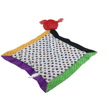Baby Ganz Red Dog With Multicolor Polka Dots Baby Blanket Ganz