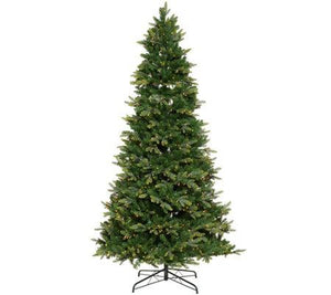 Bethlehem Lights 9' Prelit Spruce Multi-Function Tree & Remote Multi-Color Lights