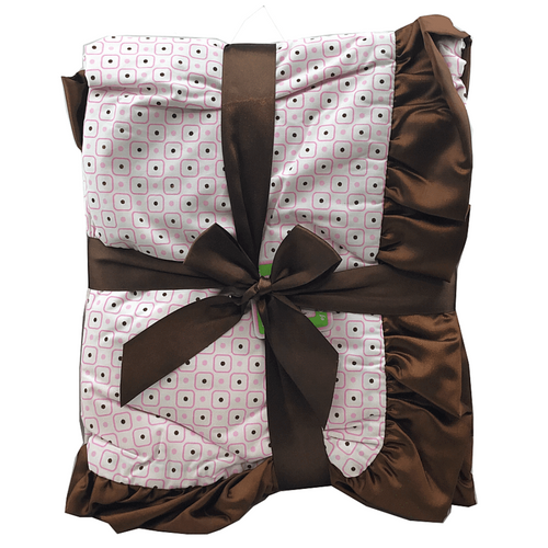 Brown Satin Trim Blanket - Two Styles