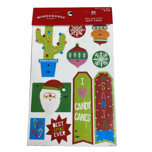 Cactus 50 Count Peel-And-Stick Gift Tags