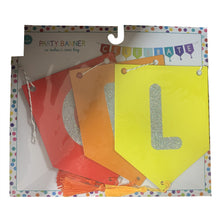 """CELEBRATE"" Rainbow Party Banner"