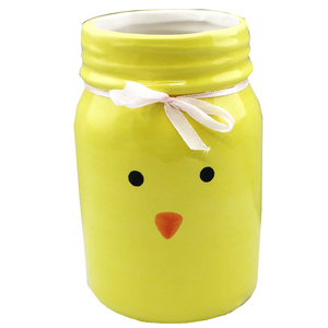 Ceramic Easter Jar - Bunny or Chick