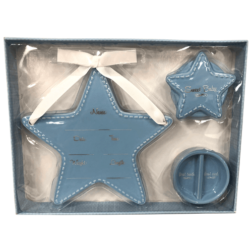 Ceramic Keepsake Announcement Gift Set - 2 Styles