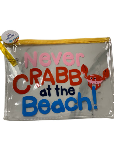 Never Crabb At The Beach Wet/Dry Bag