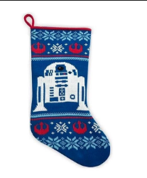 "Disney Star Wars R2-D2 Droid 19"" Knit Christmas Stocking"