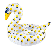 Bigmouth Inc. Inflatable Polka Dot Swan Drink Holder