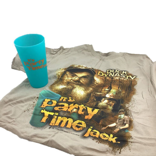 Duck Dynasty Party Shirt & Cup Combo