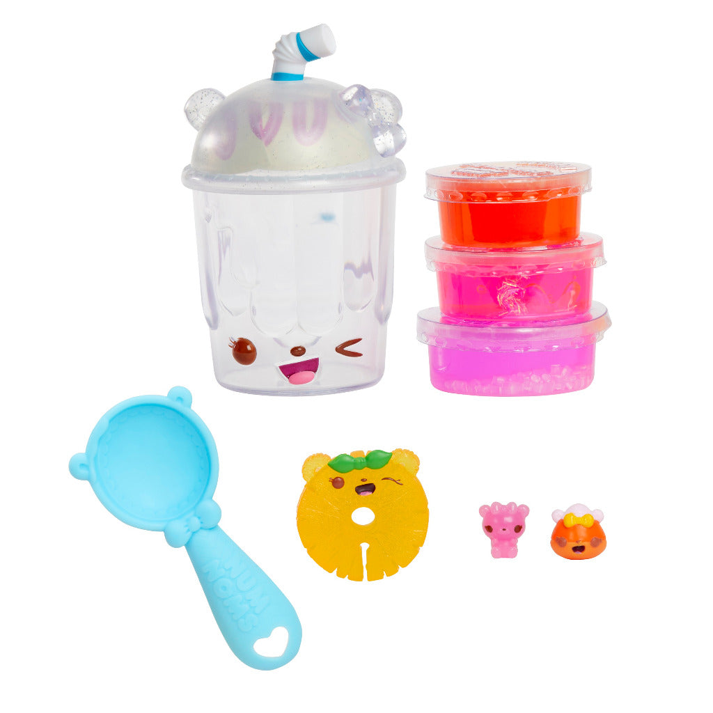 Num Noms Snackable Silly Shakes- Berry Slushie