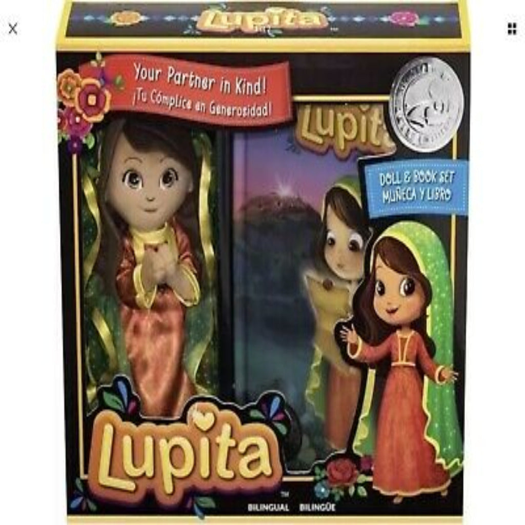 Lupita Doll and Book Box Set Bilingual