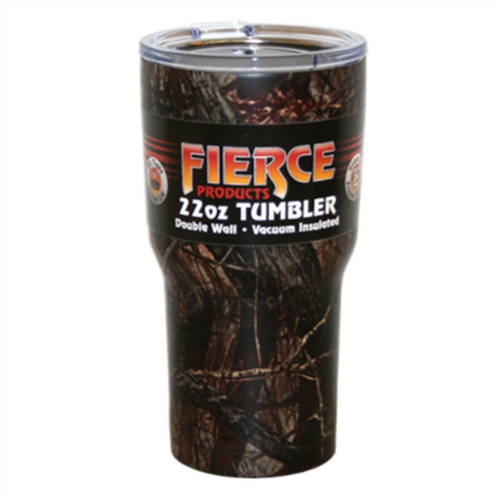 Fierce 22oz Camo Tumbler