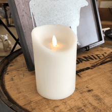 "Flameless Flicker LED Candle - 4"" x 6"""